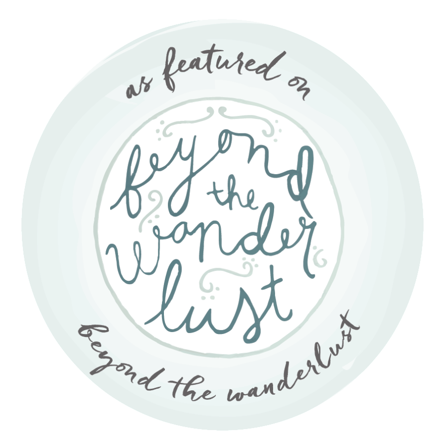 Featured on Beyond the Wanderlust